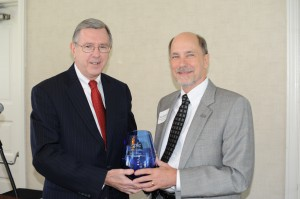 Thomas J. Gentzel receives EPLC's 2014 Edward Donley Education Policy Leadership Award, presented by EPLC President Ron Cowell